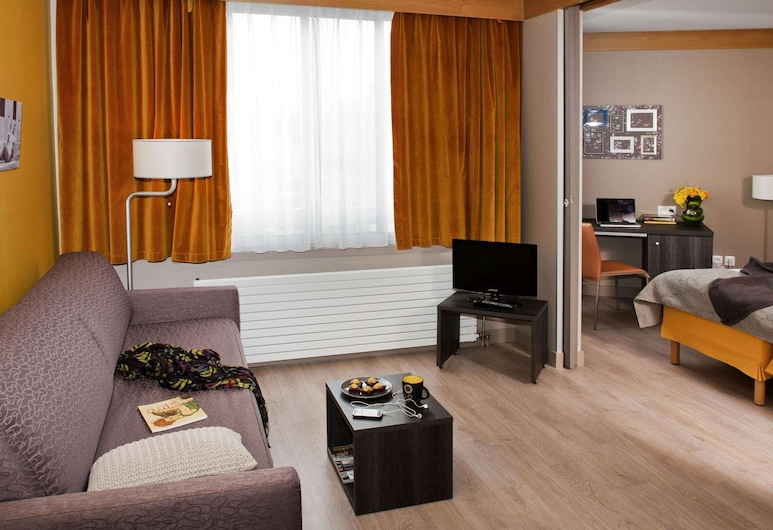 Aparthotel Adagio Paris XV, París, Íbúð - 1 svefnherbergi, Herbergi