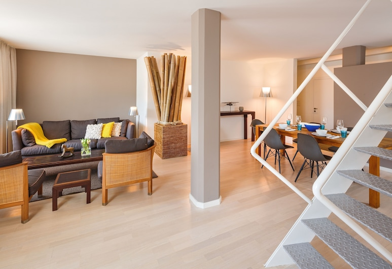 Hotel Rössli, Zürich, Standard Apartment, Living Room