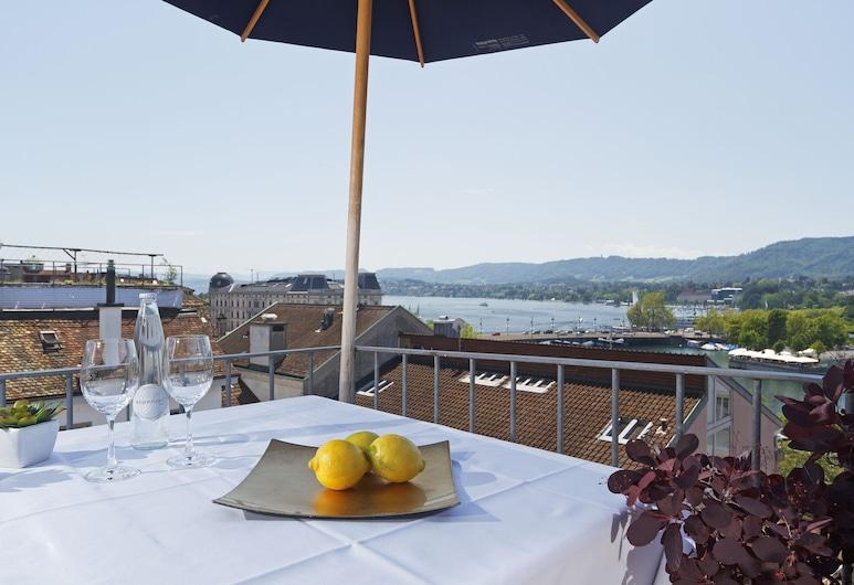 Hotel Rössli, Zürich, Junior sviit, Terrass