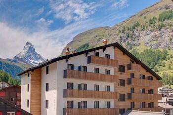 Mynd af Hotel Bristol í Zermatt