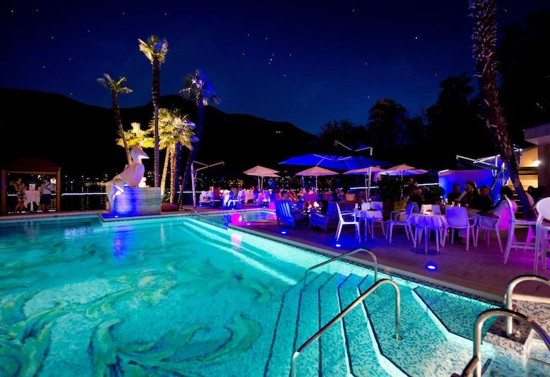 Swiss Diamond Hotel, Vico Morcote, Bar pokraj bazena