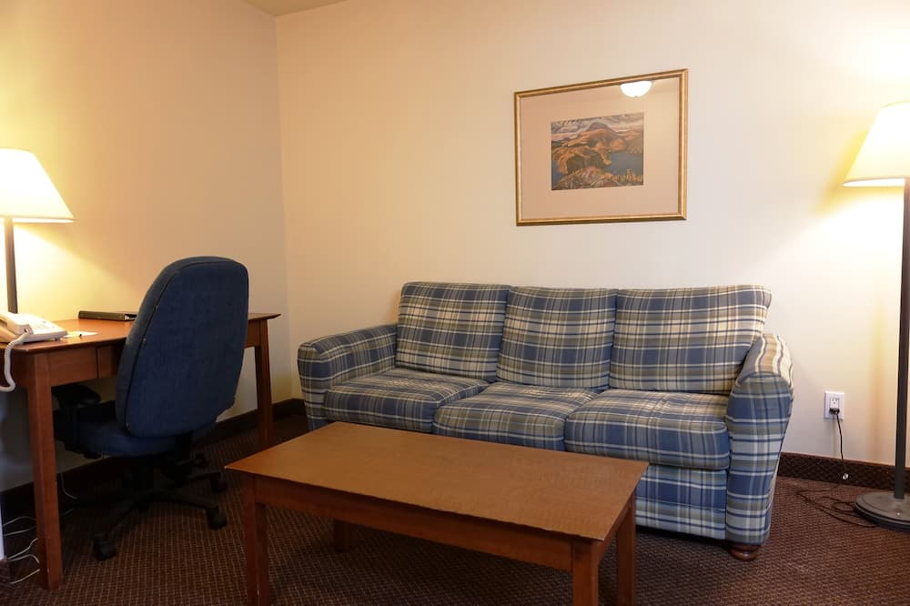 Apartmá, dvojlůžko (200 cm), nekuřácký, výhled na oceán (One Bedroom) - Obývací prostor