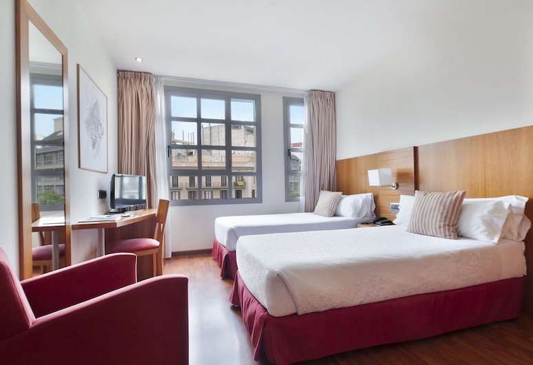 Hotel Best Aranea , Barcelona, Dobbeltværelse med dobbeltseng eller 2 enkeltsenge, Værelse