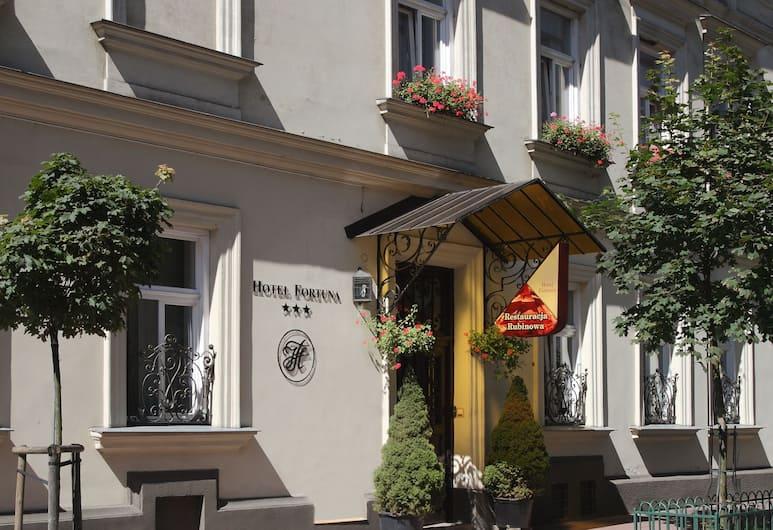 Hotel Fortuna, Krakow, Hotel Front