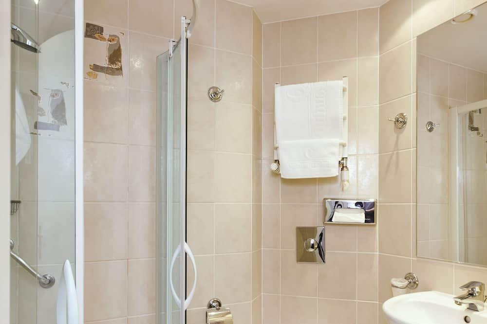 Vienvietis kambarys, 1 viengulė lova - Vonios kambarys