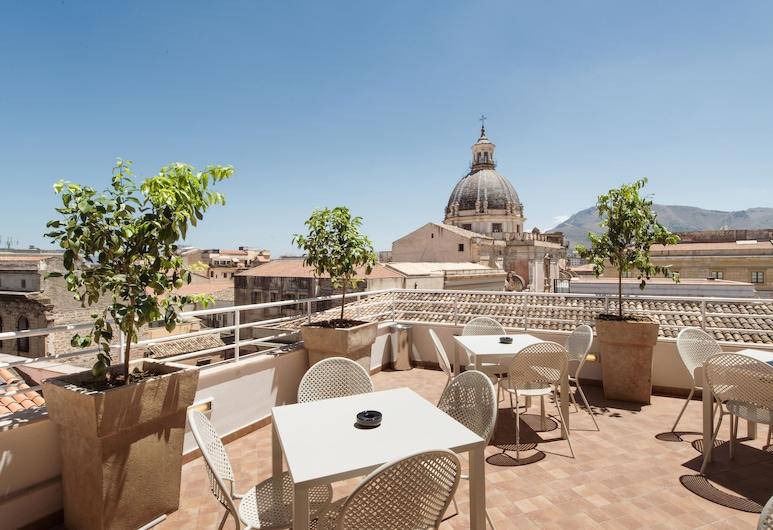 B&B Hotels - Hotel Palermo Quattro Canti, Palermo, Terasa