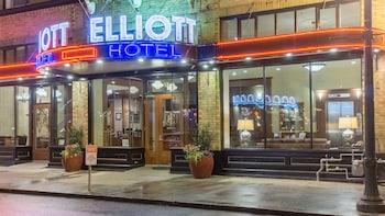 Selline näeb välja Hotel Elliott, Astoria