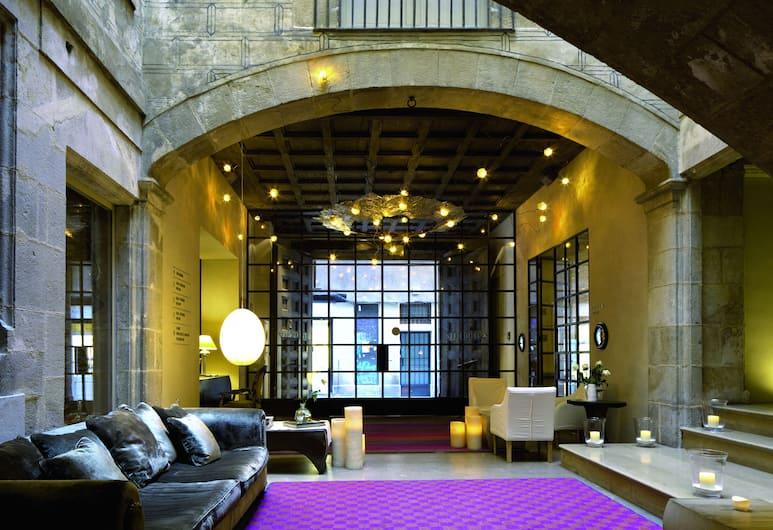 Hotel Neri, Barcelona, Zitruimte lobby