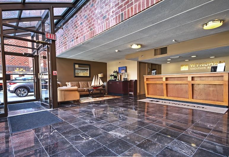 Club Wyndham Inn on the Harbor, Newport, Lobby