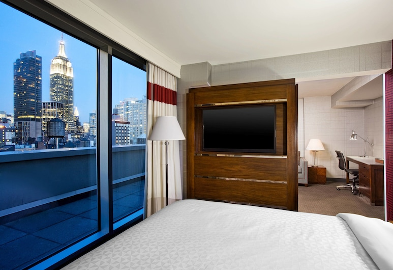 Four Points by Sheraton Manhattan - Chelsea, Νέα Υόρκη, Σουίτα, 1 Υπνοδωμάτιο, Μη Καπνιστών, Δωμάτιο επισκεπτών