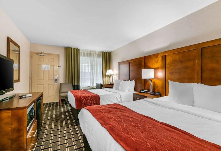納許維爾范德比市中心凱富酒店, 納許維爾, 標準客房, 2 張加大雙人床, 客房