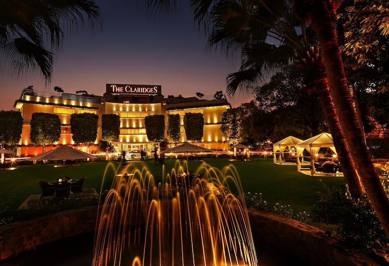 The Claridges New Delhi, New Delhi, Hotel Front – Evening/Night
