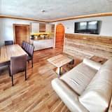 豪華公寓, 3 間臥室, 2 間浴室, 山景 - 客廳