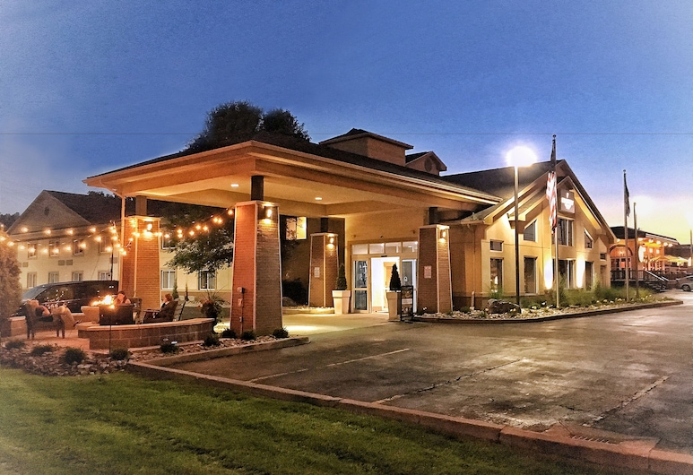Country Inn & Suites by Radisson, Rochester-Pittsford/Brighton, NY, Rochester, Hotellinngang