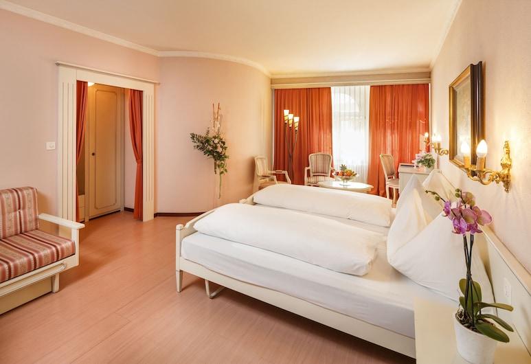 Hotel Luzernerhof, Λουκέρνη, Junior Σουίτα, Δωμάτιο επισκεπτών