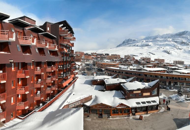 Pierre & Vacances Residence L'Ours Blanc, Huez, Overnatningsstedets facade