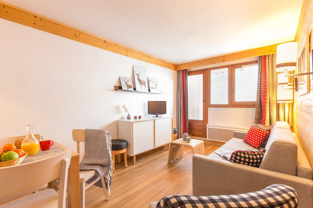 Standard - Apartment 6 people - 1 bedroom + 1 sleeping alcove - Living Room