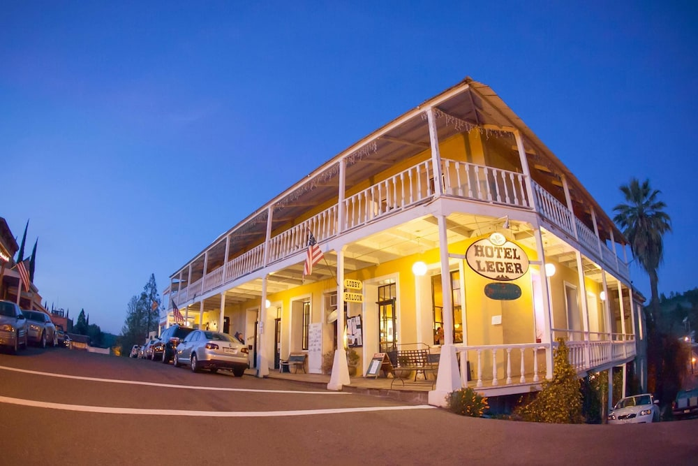 Historic Hotel Leger, Mokelumne Hill