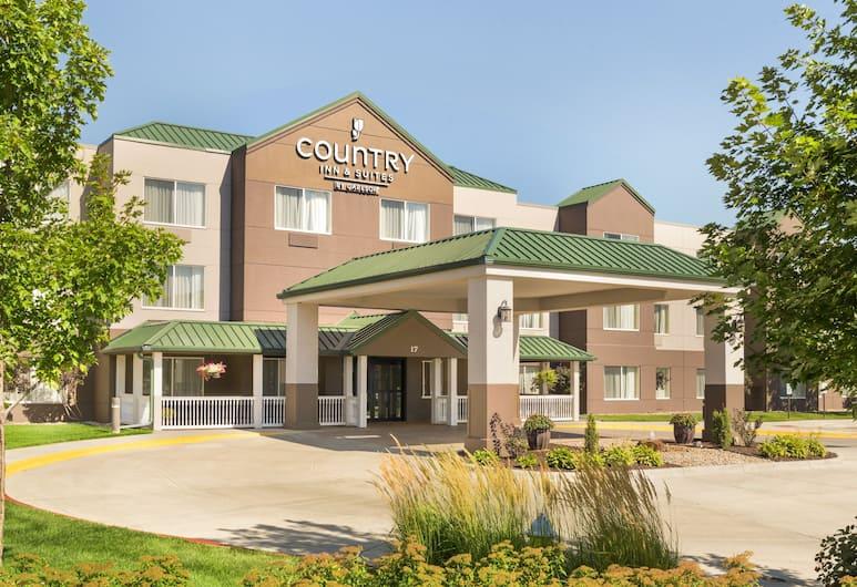 麗笙愛荷華州康瑟爾崖鄉村套房飯店, 康索布魯夫斯, 飯店正面