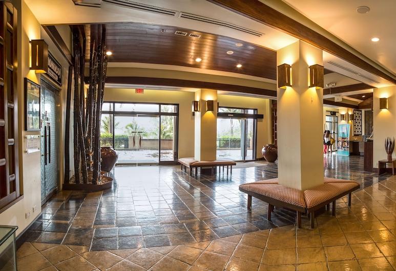 베이뷰 호텔 괌, 타무닝, 내부 입구
