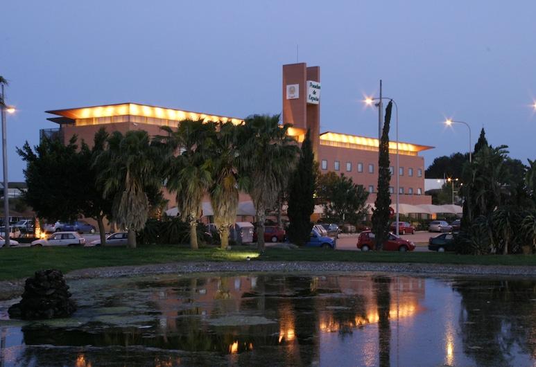 ホテル ポサダス デ エスパーニャ マラガ, Málaga, ホテルのフロント