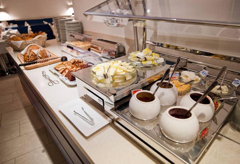 Hotel Zipser, Viena, Área para desayunar