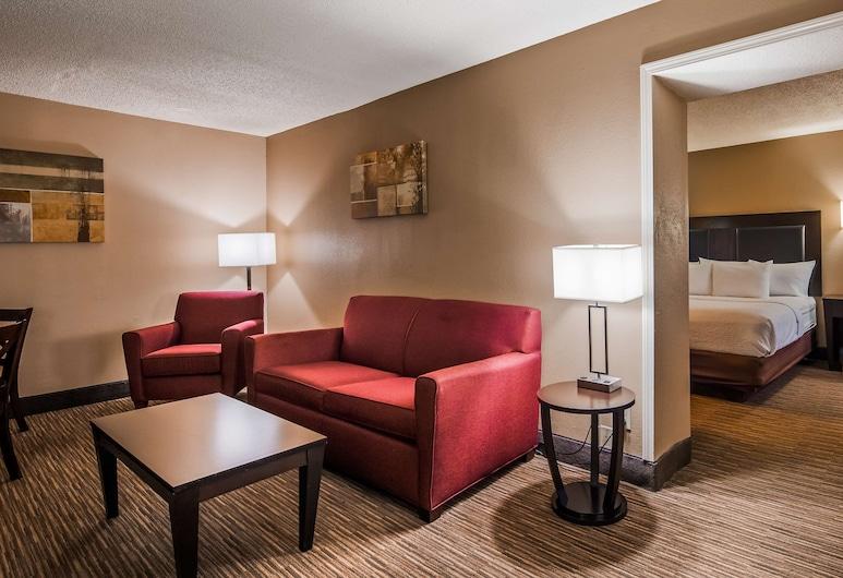 SureStay Plus Hotel by Best Western Jackson, Jackson, Suite, Više kreveta, za nepušače, hladnjak i mikrovalna pećnica (with Sofabed), Soba za goste