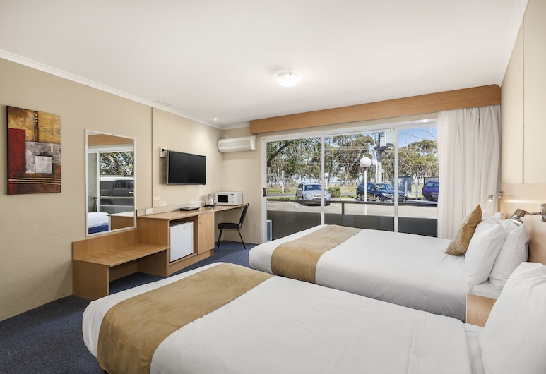 Ciloms Airport Lodge, Melbourne Airport, Standard Twin Room, Guest Room