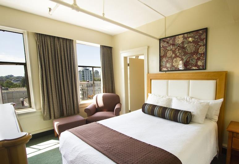 Budget Inn Patricia Hotel, Vancouver, Quarto Deluxe, 1 cama queen-size, Quarto
