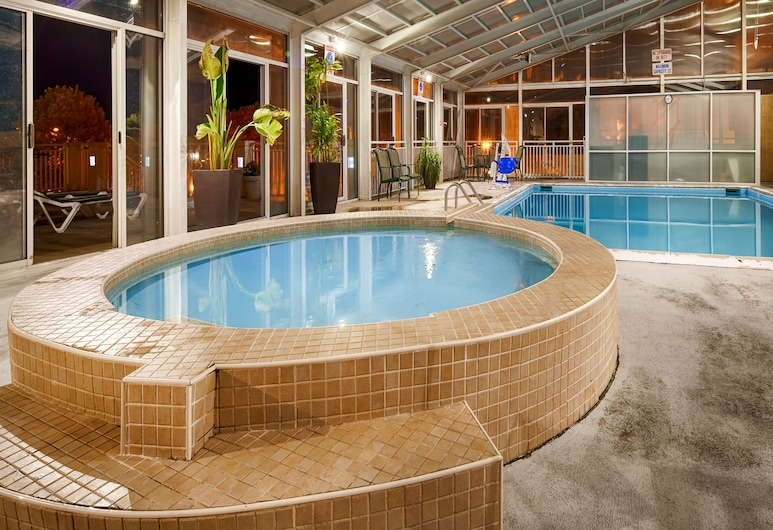 Best Western Plus Sandcastle Beachfront Hotel, Virginia Beach, Piscina cubierta