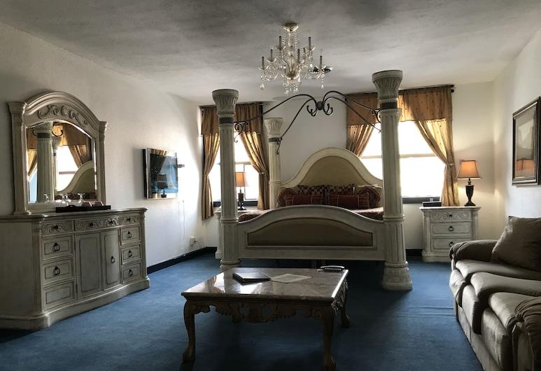 Bavarian Ritz Hotel, Leavenworth, Apartament typu Suite, Pokój