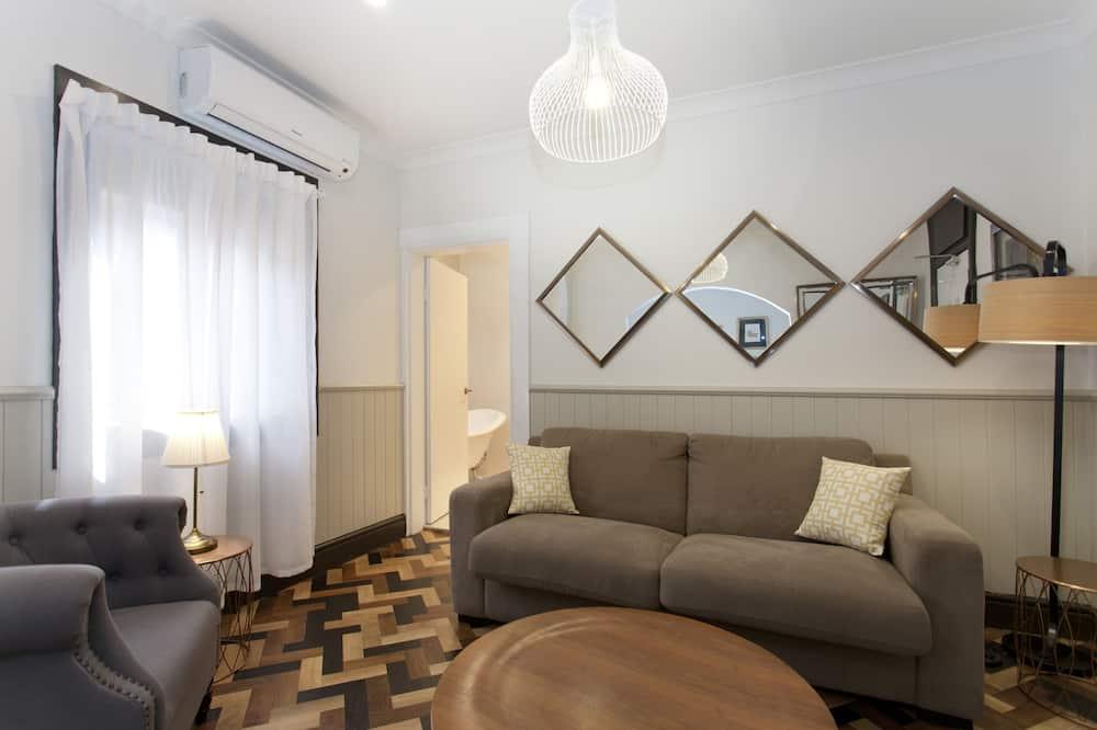 奢華頂樓客房, 2 間臥室 - 客廳