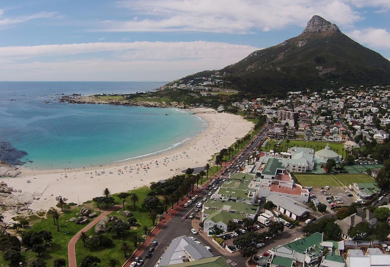 Camps Bay Village, Cape Town, Aerial View