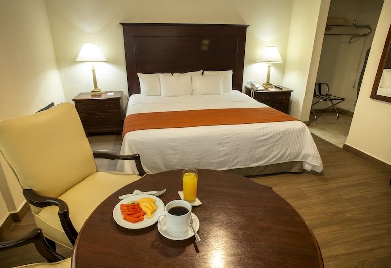 Hotel Plaza Calzada, Monterrey, Standardní pokoj, dvojlůžko (200 cm), nekuřácký, Pokoj
