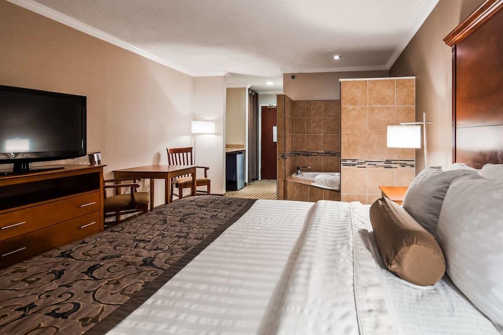 Habitación estándar, 1 cama King size, para no fumadores, bañera de hidromasaje - Habitación