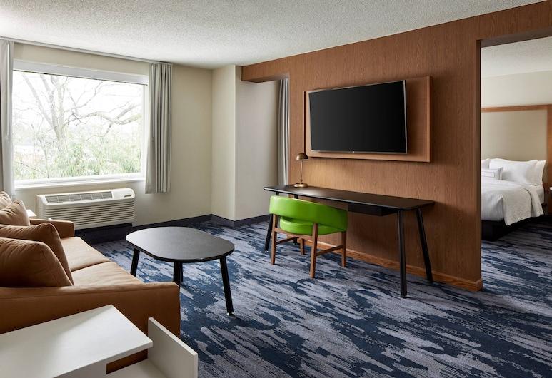 Fairfield Inn & Suites by Marriott Virginia Beach/Norfolk Airport, Virginia Beach, Suite, 1 King Bed, Non Smoking, Guest Room