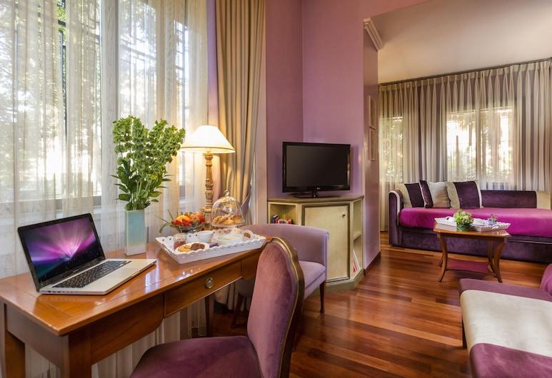 Fenix Hotel, Ρώμη, Junior Στούντιο-Σουίτα, Περιοχή καθιστικού