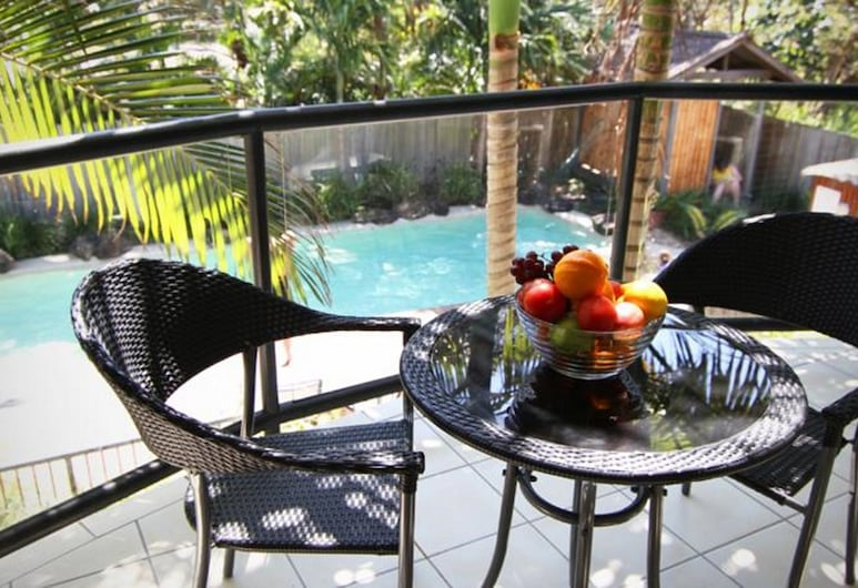 Byron Beachcomber, Byron Bay, Studio, Poolside, Balcony