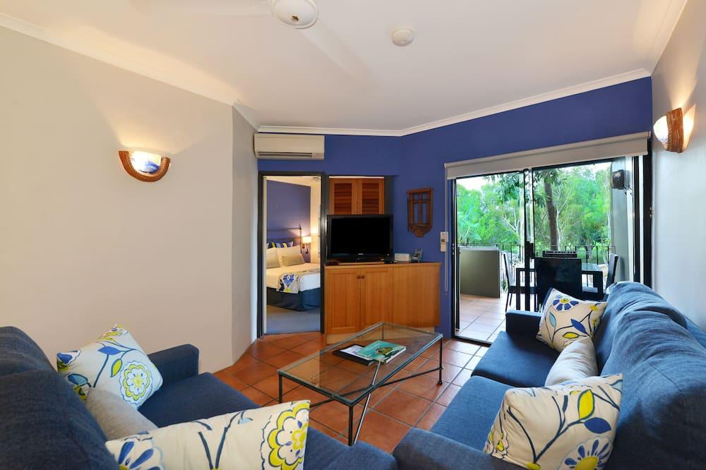 Standaard appartement, 2 slaapkamers - Woonkamer
