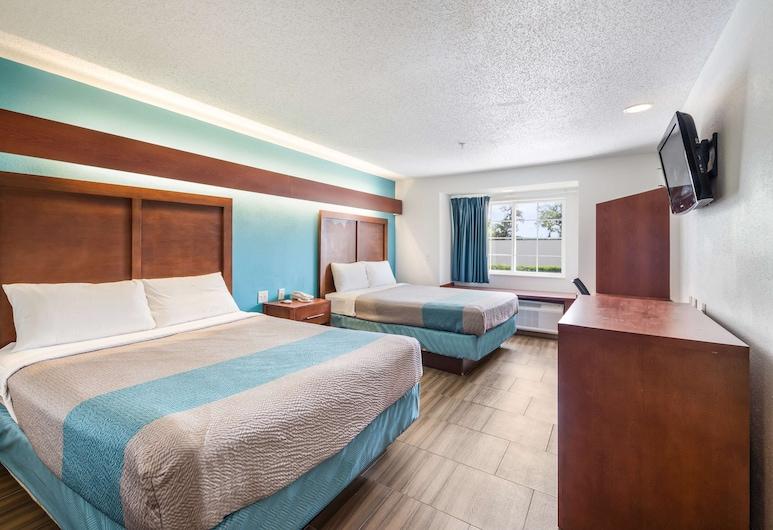 Americas Best Value Inn & Suites Brunswick, Μπρούνσγουικ, Δωμάτιο, 2 Queen Κρεβάτια, Μη Καπνιστών, Δωμάτιο επισκεπτών
