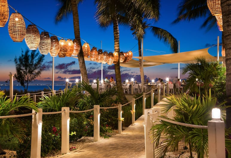 Alexandra Resort - All-inclusive, Providenciales-sziget, Étterem