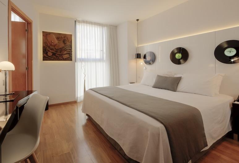 Evenia Rocafort, Barcelona, Quarto casal de uso individual, Quarto