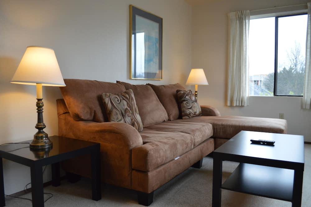 1 Bedroom Suite (1 Queen Bed) - Dnevna soba