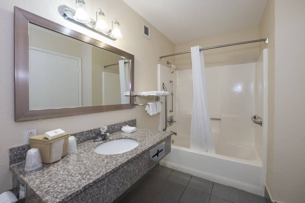 Habitación estándar, 2 camas dobles, no fumadores - Cuarto de baño