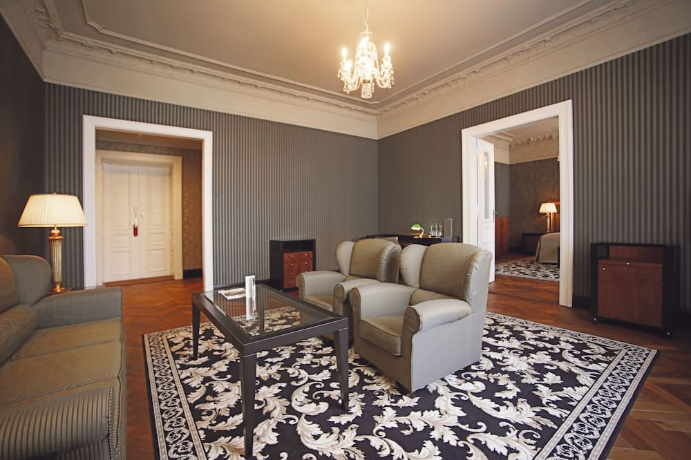 Apartment (Spa Included) - Living Area
