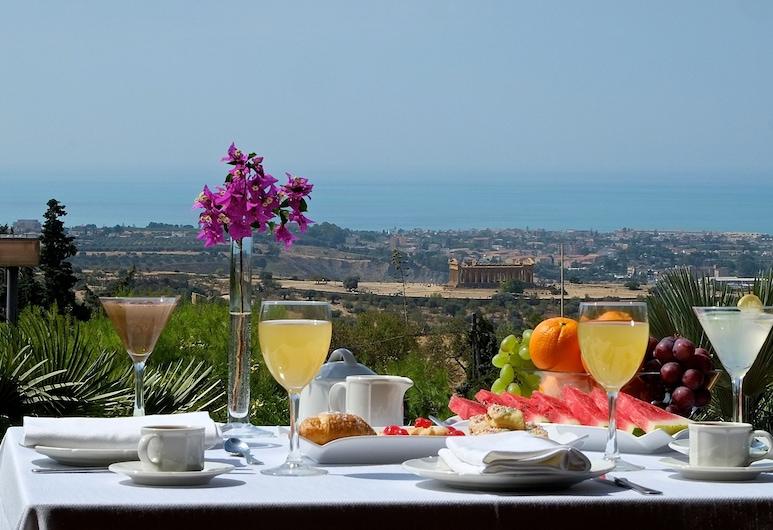 Colleverde Park Hotel, Agrigento, Restaurante al aire libre