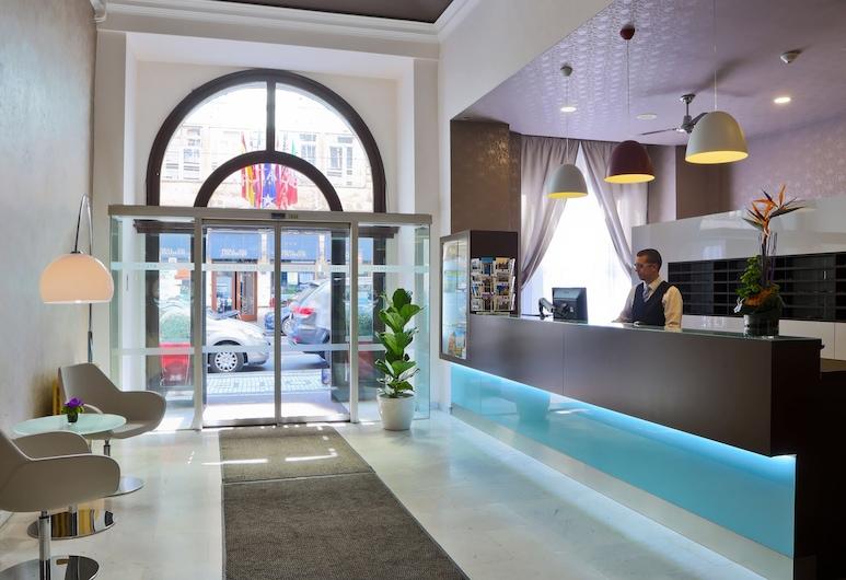 Atlantic Hotel, Praga, Recepção