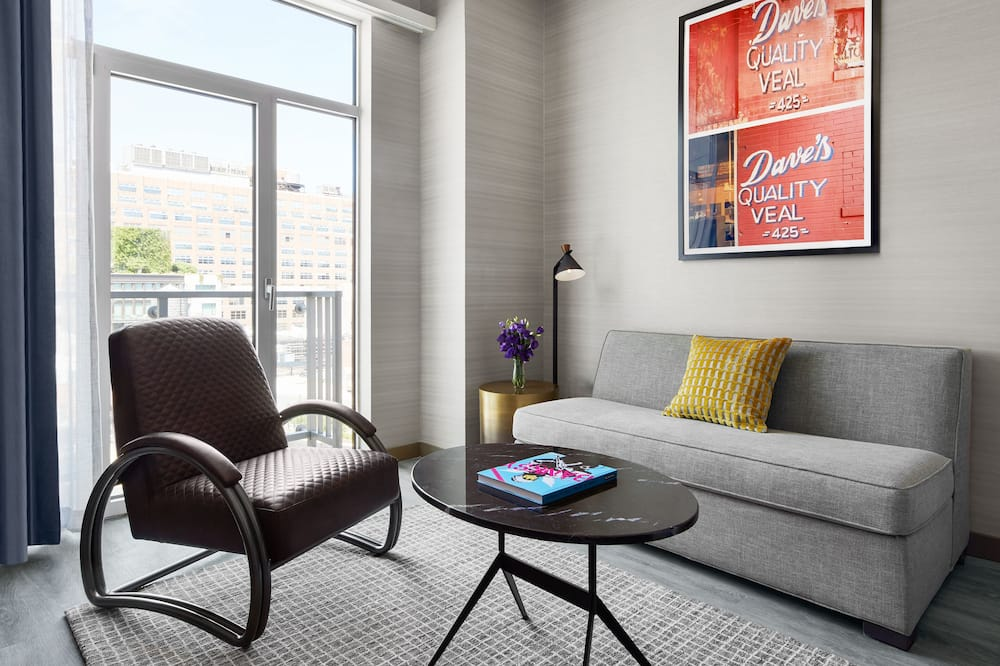 Номер-люкс (Manhattan) - Житлова площа