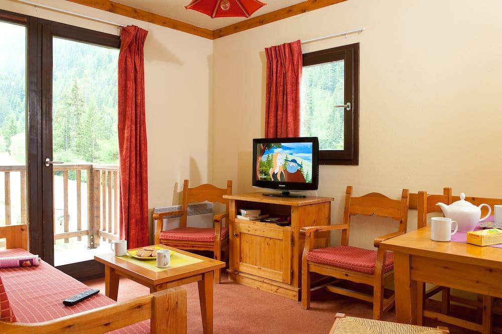 Апартаменти з 1 спальнею (for 6) - Вітальня