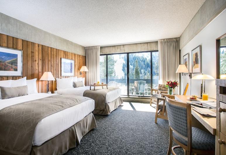 Lodge at Snowbird, Sandy, Pokój standardowy, 2 łóżka queen, lodówka, widok na góry, Pokój